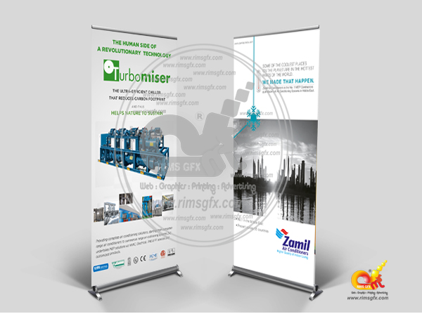 Banner Standee Printing Rimsgfx Advertising Co Creative
